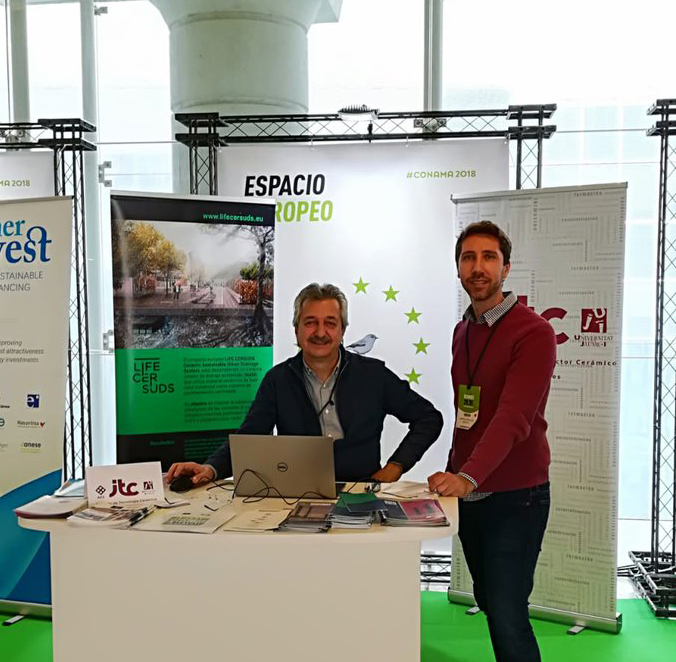 96831309b1 CONAMA 2018, National Environment Congress. Dissemination of the project in  dissemination space of European projects (Conama Conecta).
